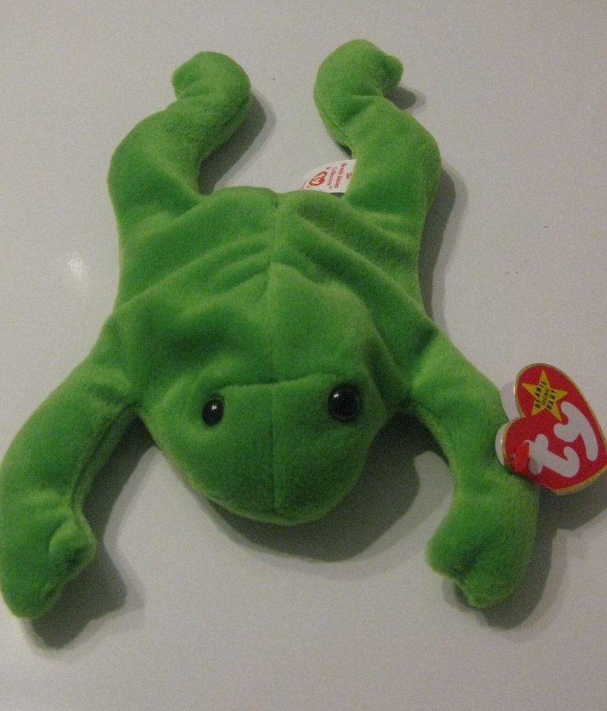 02bb0ca3643 TY Retired Beanie Baby LEGS Frog Tags 4-25-1993 PVC Pellets  Ty LEGS IS  CROAKING FOR YOU TO BUY HIM HE IS DISCOUNTED TOO!