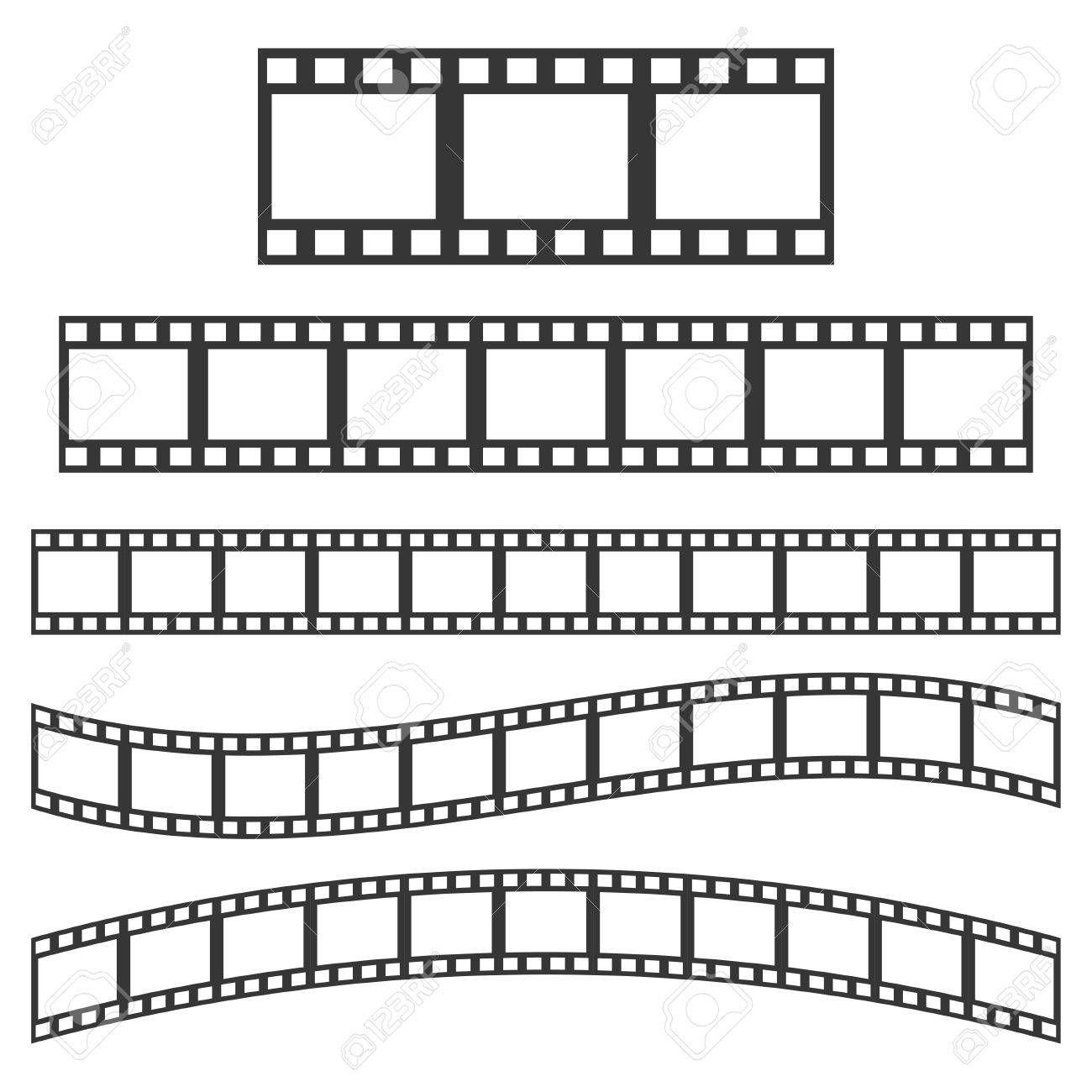 Vector Black Film Frame Film Strip Sign Illustration Affiliate Film Frame Vector Black Sign Wall Art Decor Vector Art Wall Art