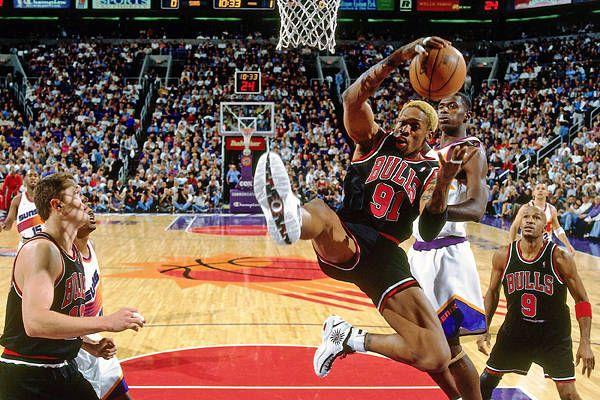 Rodman không bắt được bóng nhờ vào sự may mắn