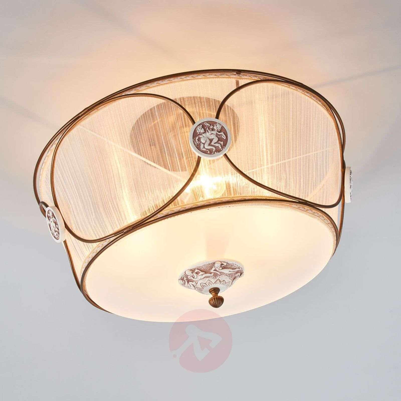 Lampa Sufitowa Leitizia Z Anielskim Motywem Lampy Sufitowe