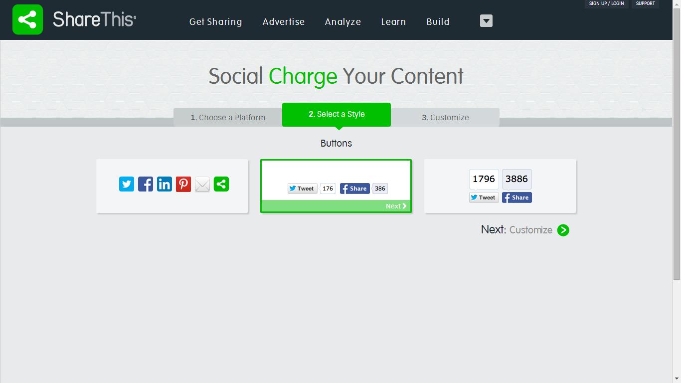 Personalización de Blogs: Blog con consejos y trucos para blogueras: Cómo poner otros botones para compartir en el blog