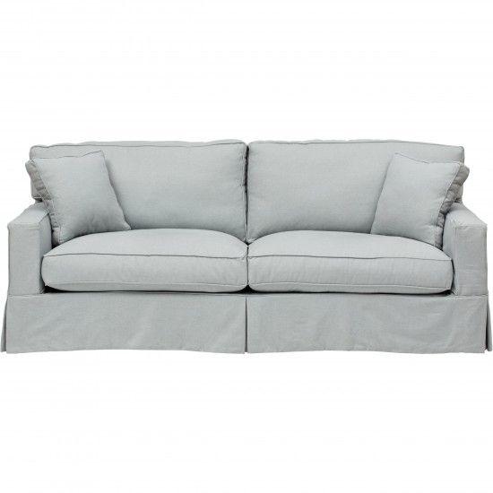 Parker Slipcover Sofa, Duet Ocean | Main Street b&b | Sofa ...