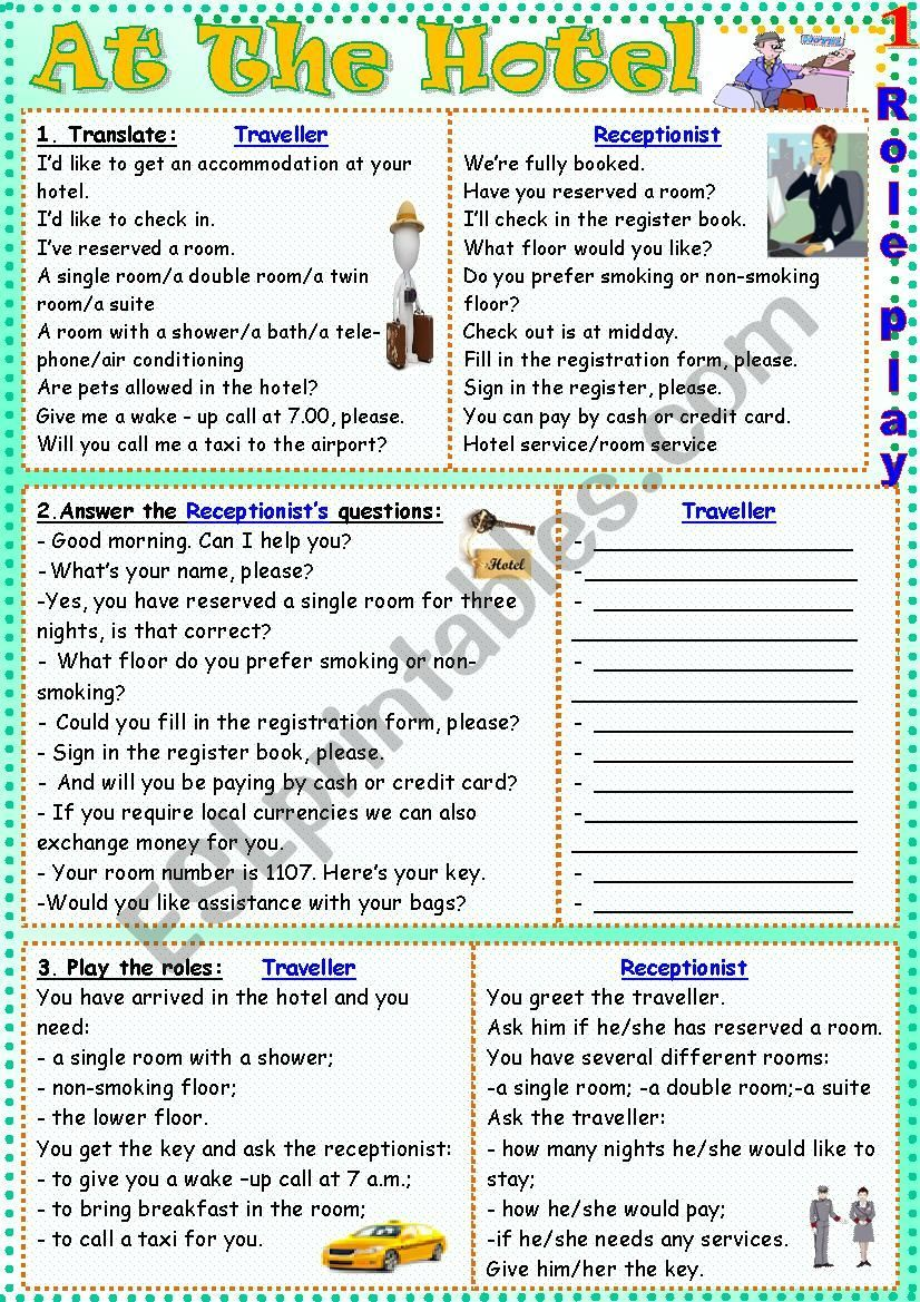 Three Exercises For Practicing The Role Play Learn English Grammar For Kids Teaching English Grammar
