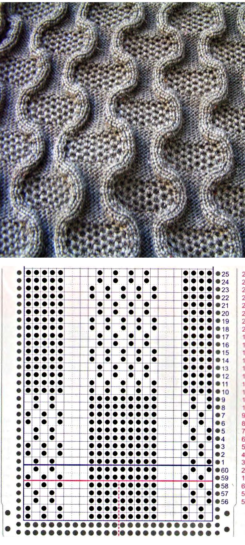 Pin de cangrejo tejedor en Tricotadora | Pinterest | Dos agujas ...