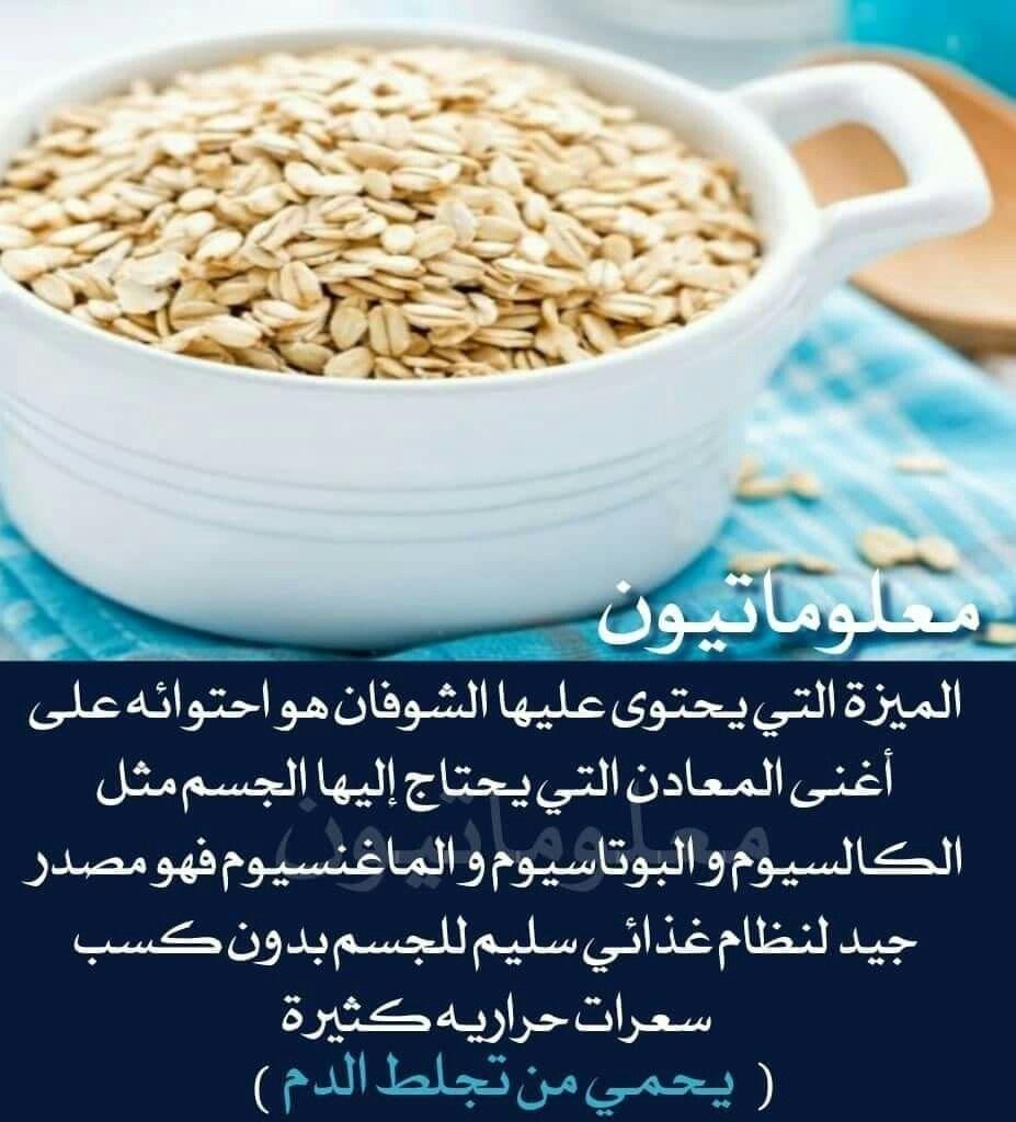 السعرات الحرارية في الشوفان لأكل صحي كل يوم دايت كلينيك Food Oats Rice