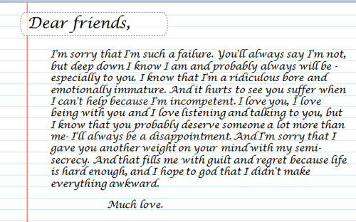 writing an apology letter to boyfriend
