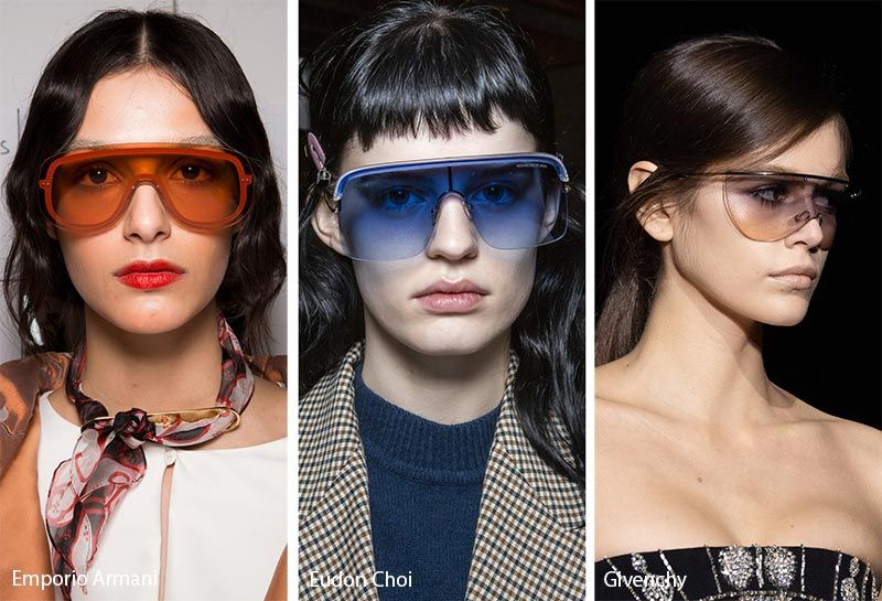 Eyewear Trends 2020.Fall Winter 2019 2020 Sunglasses Trends Trending