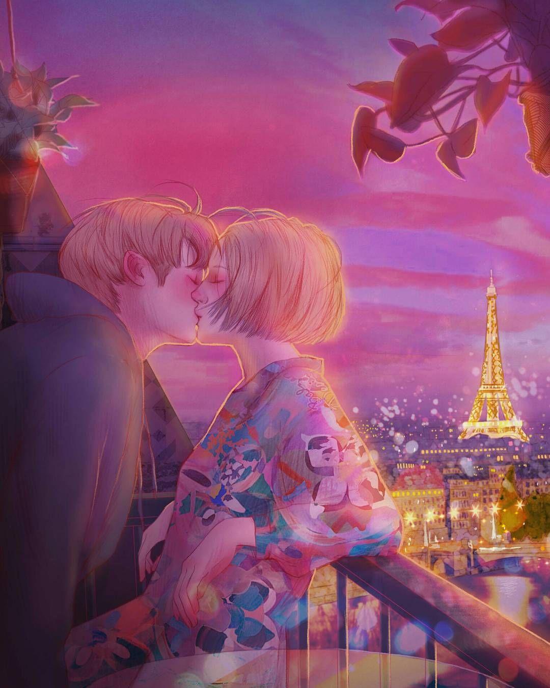 Красивые картинки любовь и романтика рисованные, красивые открытки мерцающие