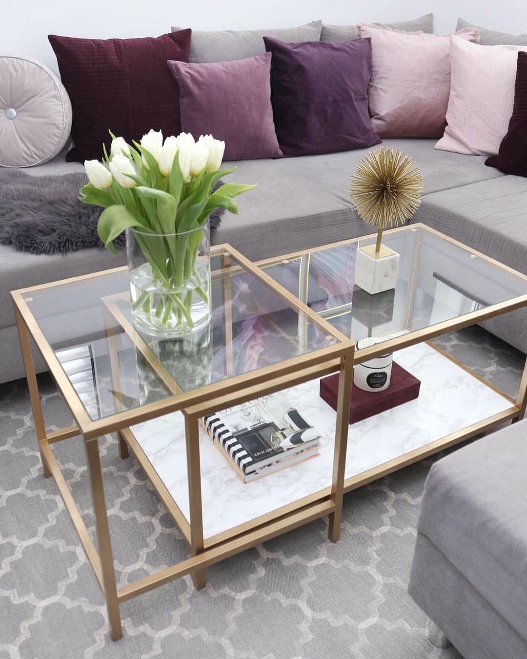 Werbung D O I T Y O U R S E L F Ihr Hubschen Hier Ist Das Ergebnis Meines Diy Projektes Ich Konn In 2020 Ikea Diy Ikea Coffee Table Home Decor Accessories [ 1350 x 1080 Pixel ]