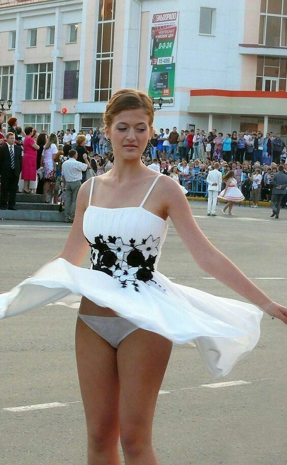 Upskirt pics of russian girls