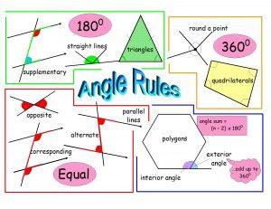 Maths Angles Gcse Maths Revision Gcse Math Math Methods