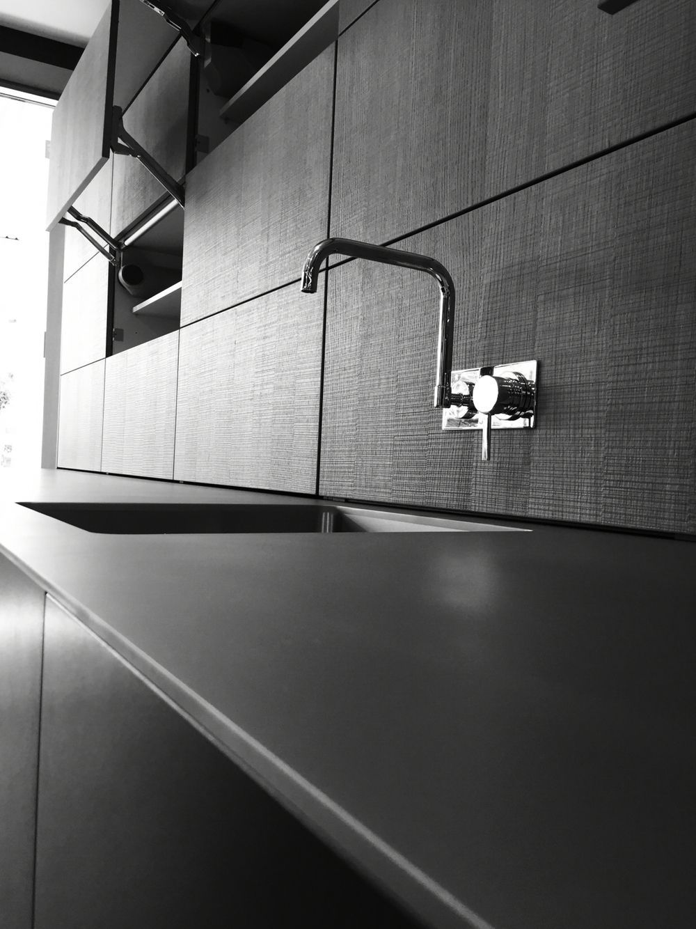Image result for bead blasted stainless steel worktop