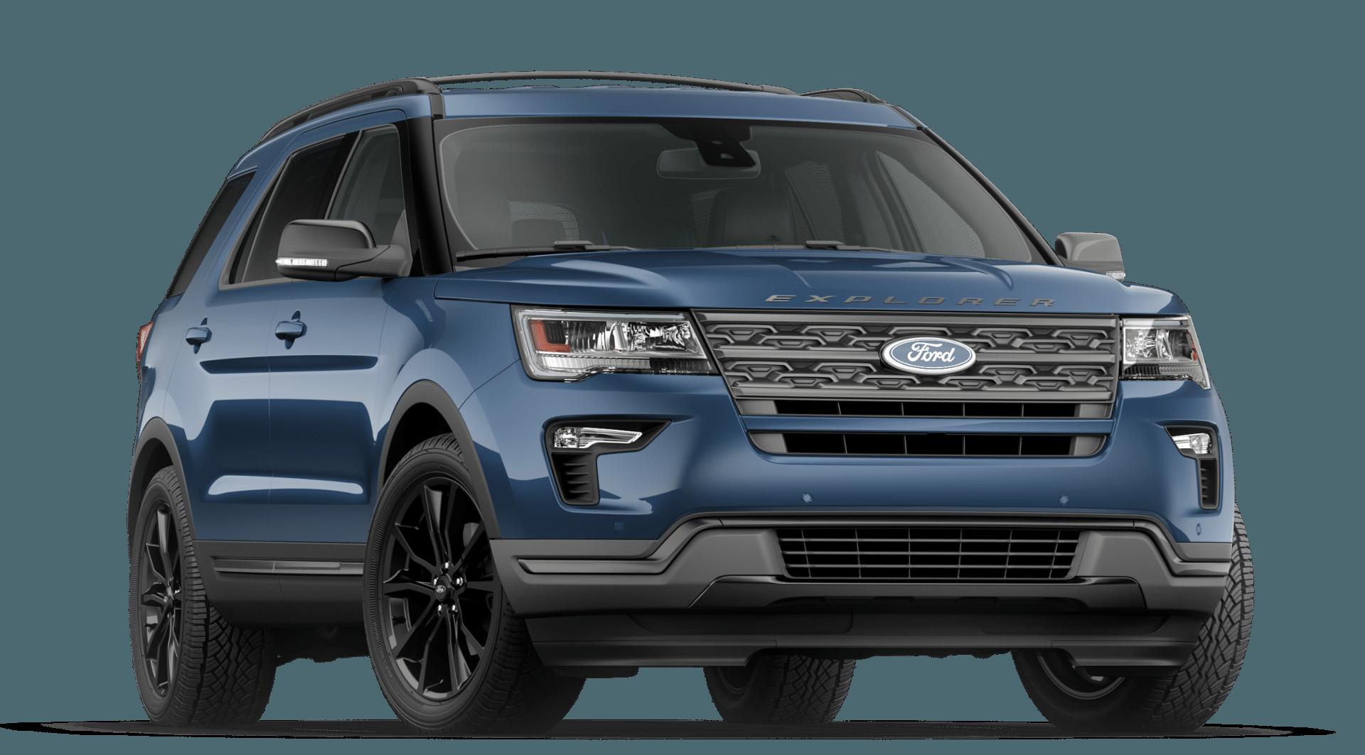 Exterior View of 2019 Explorer 2020 ford explorer, Ford