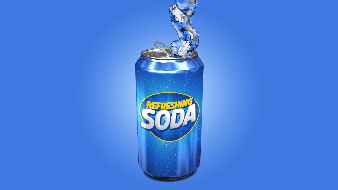 Download Photoshop Tutorial Product Packaging Design 3d Soda Can Canning Coors Light Beer Can Packaging Design
