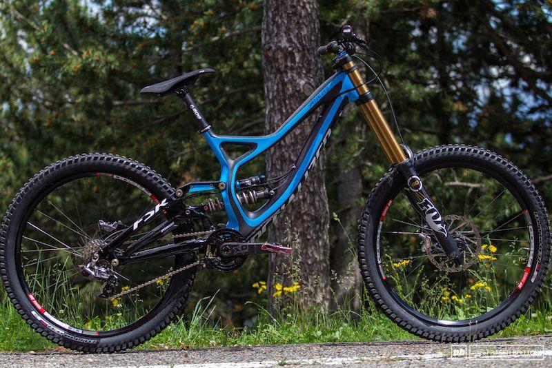 Aaron Gwin S Prototype Demo Race Bike Andorra World Cup