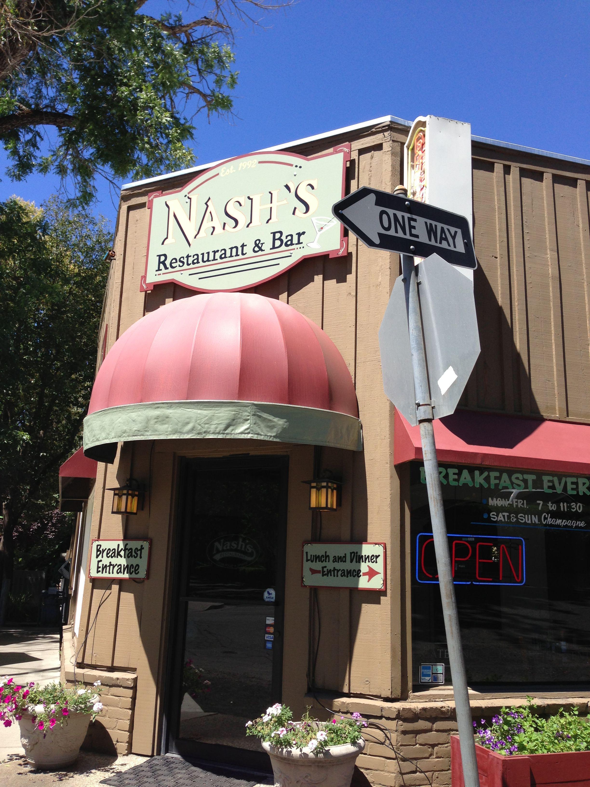 Nashs Restaurant Bar Chico Ca When I Was Still In School I