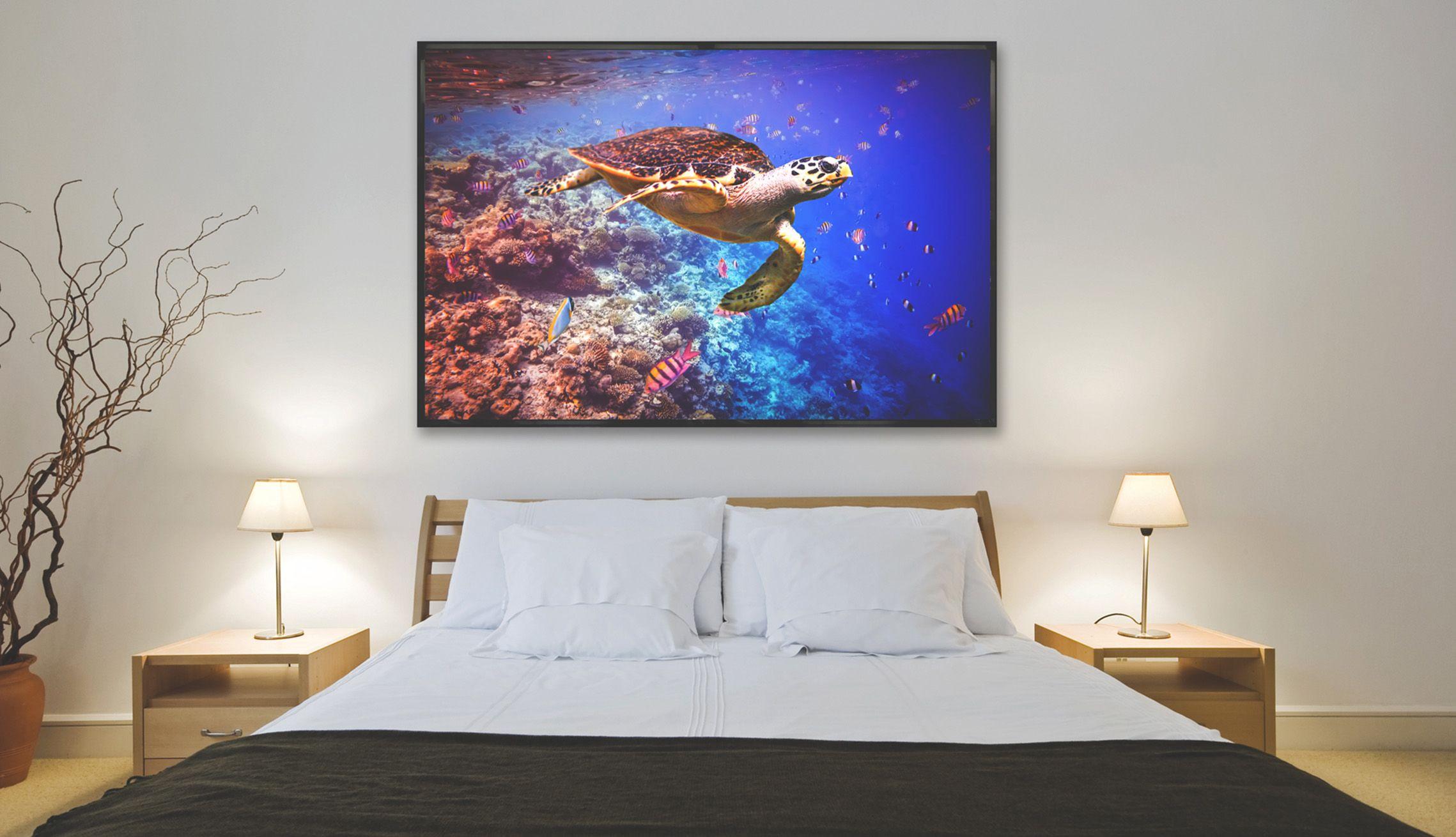 lumisky beleuchtetes bild led lichtdecken. Black Bedroom Furniture Sets. Home Design Ideas