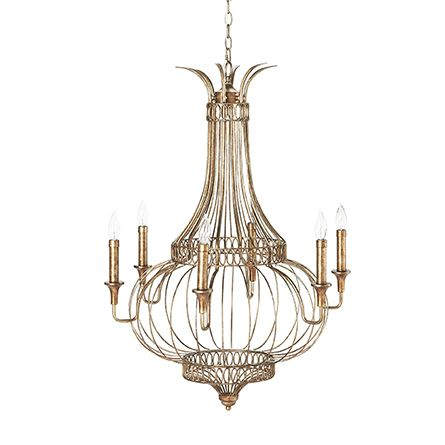 Brunswick Glass Chandelier 36
