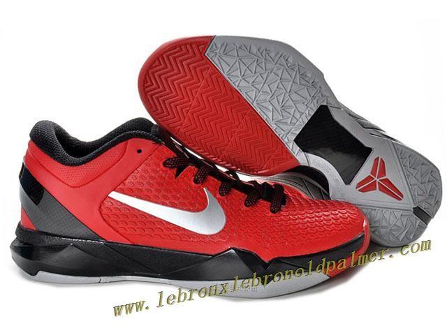 Nike Zoom Kobe 7 Elite Shoes Red Black