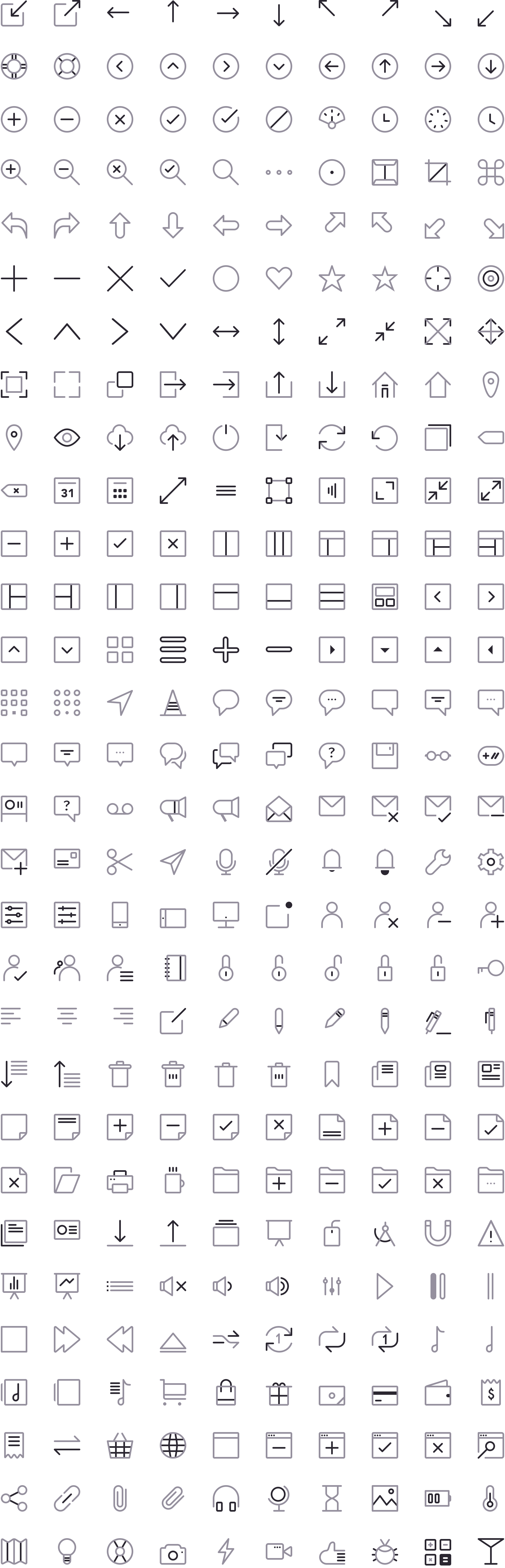 Free Download  CompassCons 20 Sketch Icons   Sketch icon, Icon ...