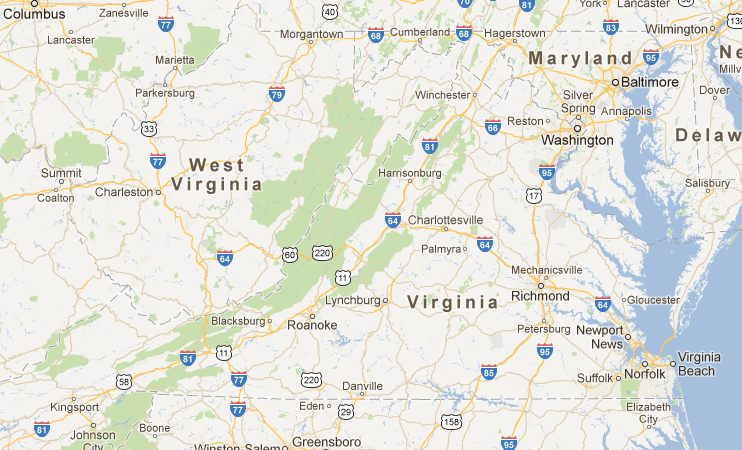 Interactive Map Of Virginia.Virginia Fall Map Virginia Is For Lovers This Neat Interactive