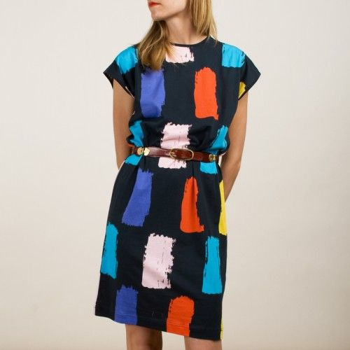 Bright and Easy Dress: So colorful and fun for everyday wear