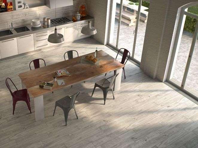 Abbinare il pavimento al rivestimento della cucina | Pavimenti ...