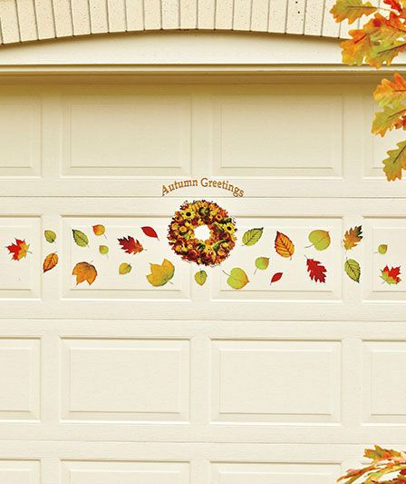 christmas doors magnetic magnets door decor splendid garage