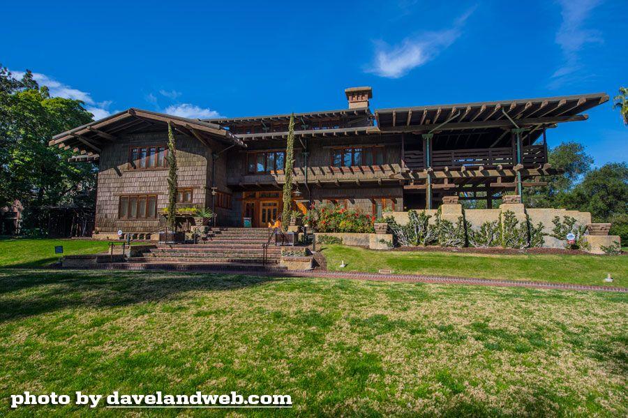Davelandblog: The Wright Tour, Pt. 3: The Gamble House