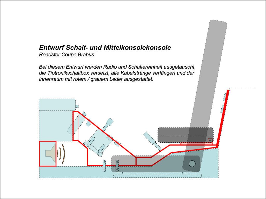 Smart Roadster Innenraum Umbau und Innenraum beledern | smart ...