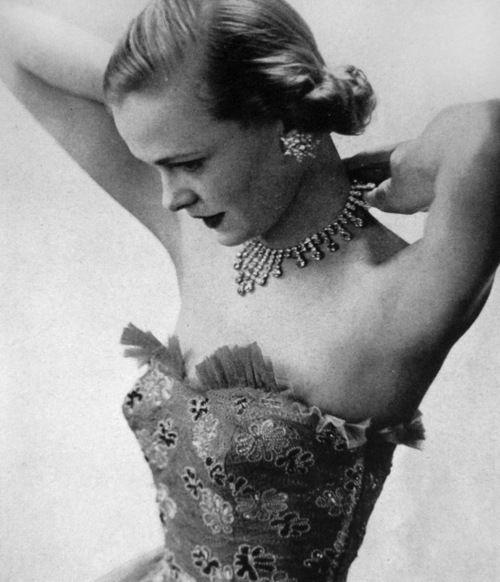 Evening wear for Queen magazine, 1951.