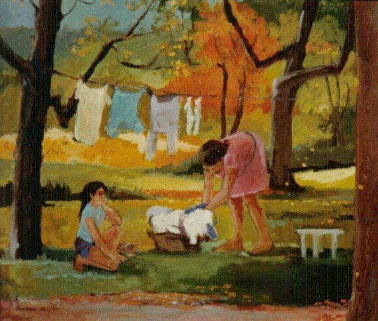 Cloth line (sold)