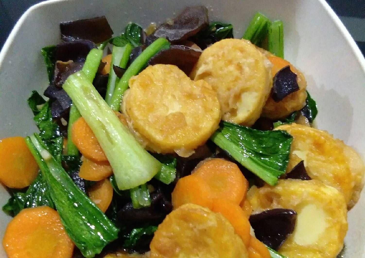 Resep Capcay Tumis Sayuran Oleh Neng Mia Resep Tumis Makanan Babi Asam Manis