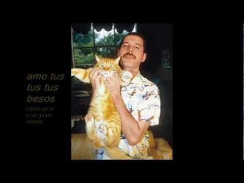 Queen - Delilah (Español/Inglés) - Freddie Mercury, que amaba a todo el mundo, mucho debió de amar a su gato cuando introdujo esta canción en el disco contra el parecer de los demás componentes del mismo.