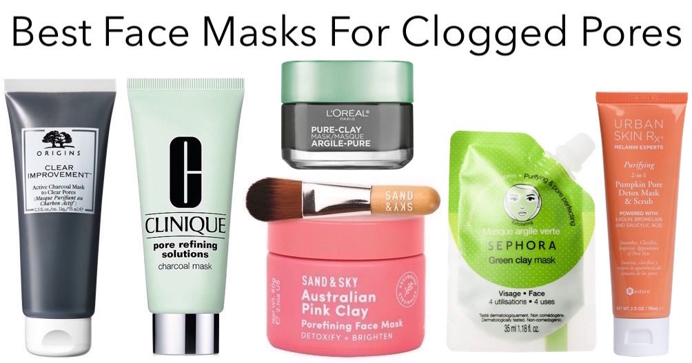 Best Face Masks For Large Clogged Pores And Oily Skin Best Face Products Face Mask For Pores Clogged Pores