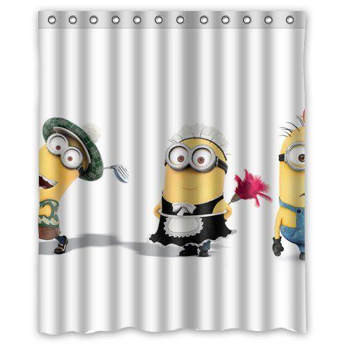 Duschvorhang Minions Außergewöhnliche Geschenkideen Pinterest