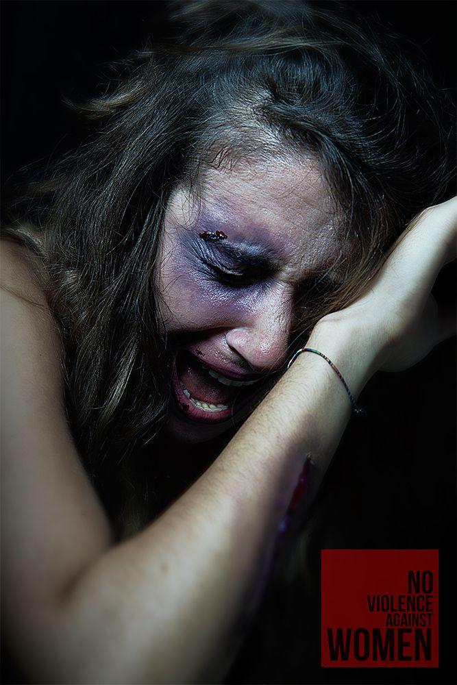 No Violence Against Women  Photo Pasquale Di Blasio Special Fx Alessia Coletta