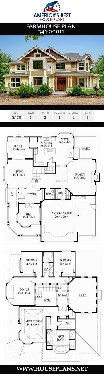 Farmhouse Plan 341