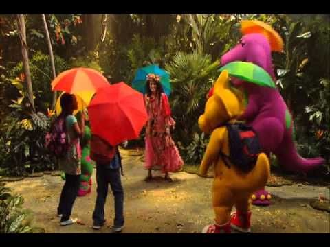 Barney - The Raindrop Song   Kids Video Channel   Friends