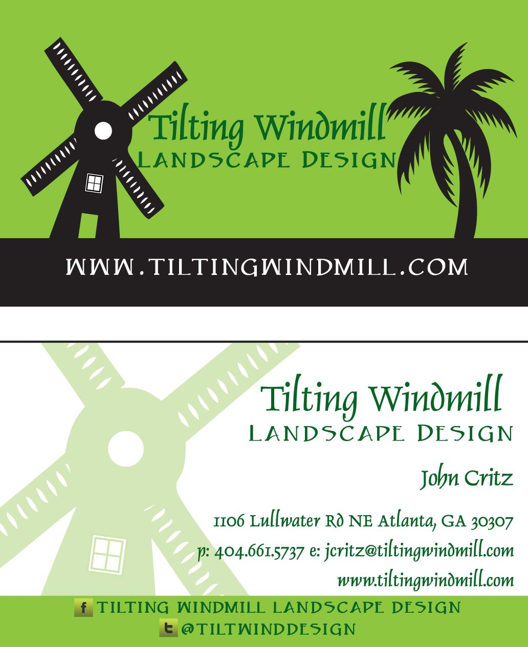Logo and business card design for an atlanta landscape company logo and business card design for an atlanta landscape company magicingreecefo Images