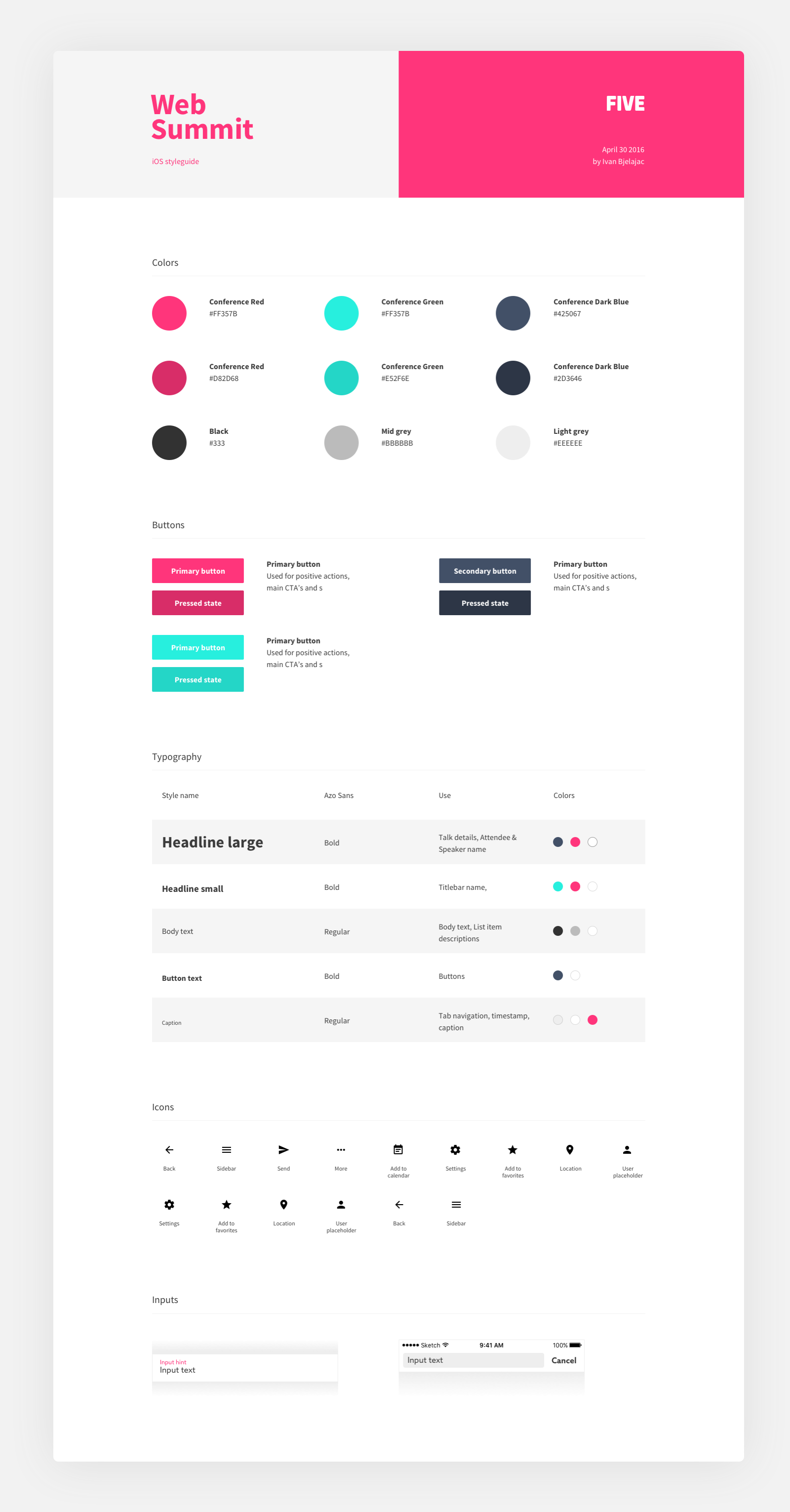 Pin by Martin Zila on Webdesign , Style Guide