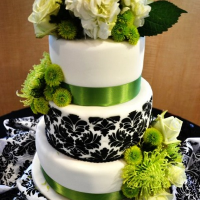 lime green and black wedding theme | ... For this White, Black ...