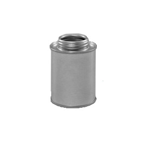 Illing Part 814ftr08 8 Oz Metal Flat Top Round Can 1 3 4 Opening Flat Top Cans Are Of 3 Piece Construction With Metal Containers Plastic Pail Canning