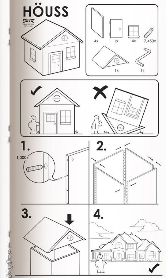 Ikea Anleitungen Mal Anders Mit Bildern Ikea Anleitungen Cooles Zeug