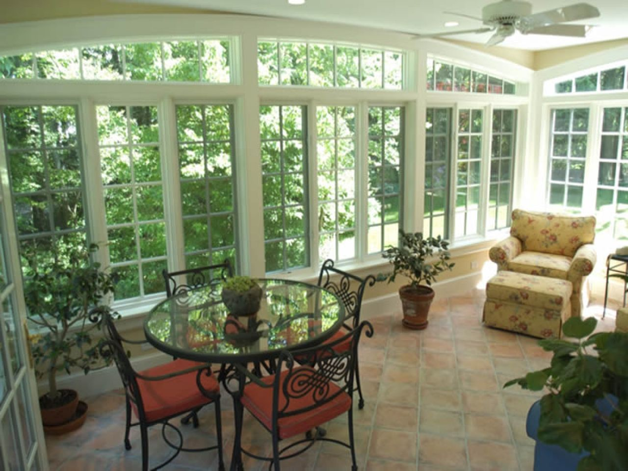 Sunrooms designs, sun room with deck attached screen rooms ...