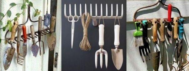 Ranger ses outils de jardin, des idées | Bricolage | Pinterest ...