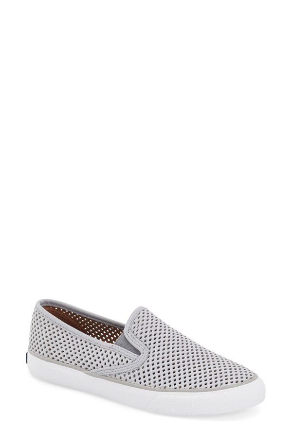 d97e48b6552b Sperry Sperry 'Seaside' Perforated Slip-On Sneaker (Women) available at  #Nordstrom