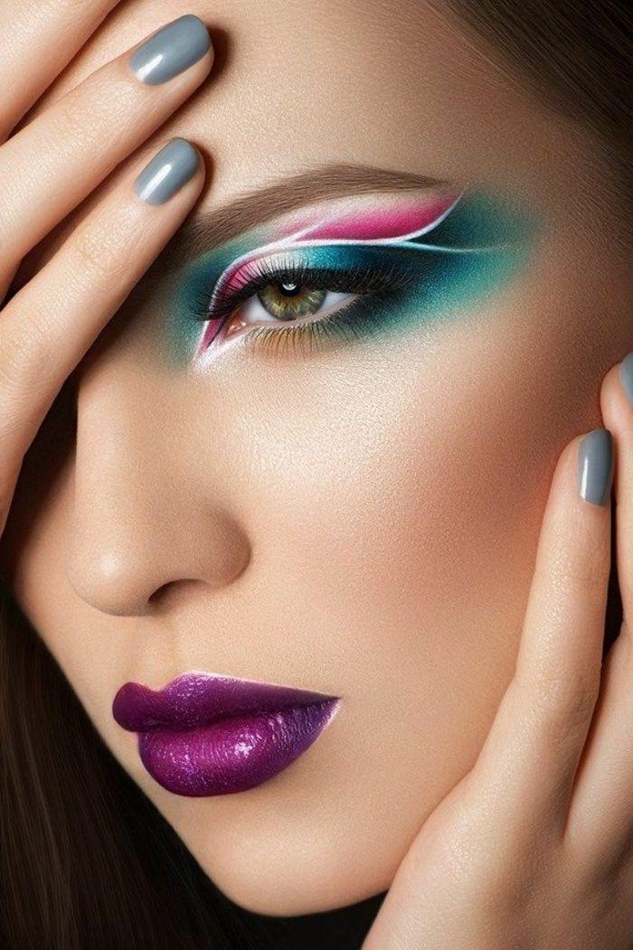le meilleur maquillage artistique dans 43 images makeup ideas pinterest maquillage. Black Bedroom Furniture Sets. Home Design Ideas