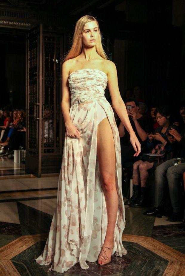 Becky - Zyenep Kartal SS15 #nevswomen #LFW #SS15 #fashion #fashionweek #model #ootd