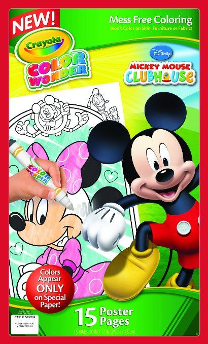 Robot Check | Color wonder, Mickey, Mickey mouse